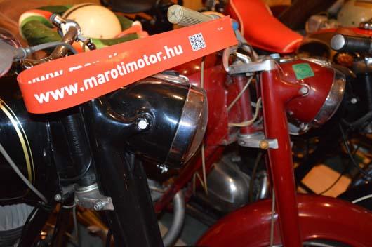 A Maróti Motorgyűjtemény részlete.