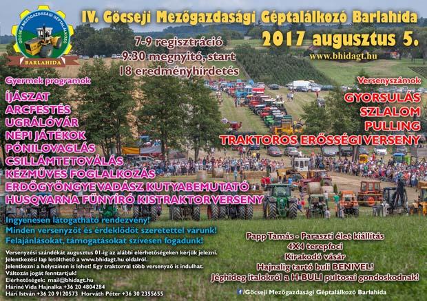 Göcseji Mezőgazdasági Géptalálkozó, 2017.08.05., Barlahida